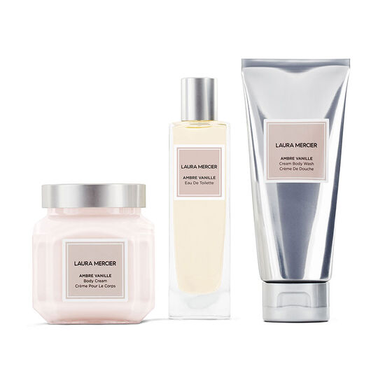 Luxe Indulgence Ambre Vanille Body Triplet